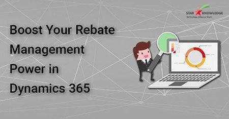 Rebate management